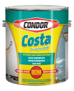 Producto para interiores: Condor Costa Mate   Pinturas Condor