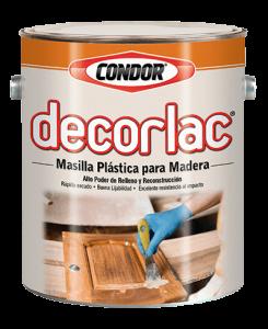 Línea Madera: Decorlac Masilla Plástica | Pinturas Condor