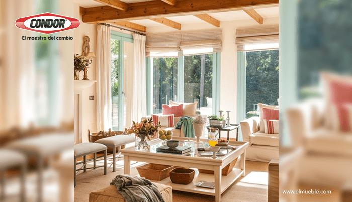 Dale a tu casa un estilo provenzal