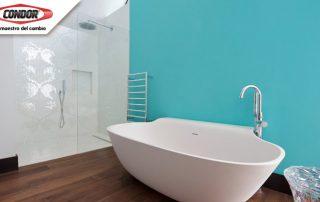 Baños turquesas para tu hogar: Blog | Pinturas Condor